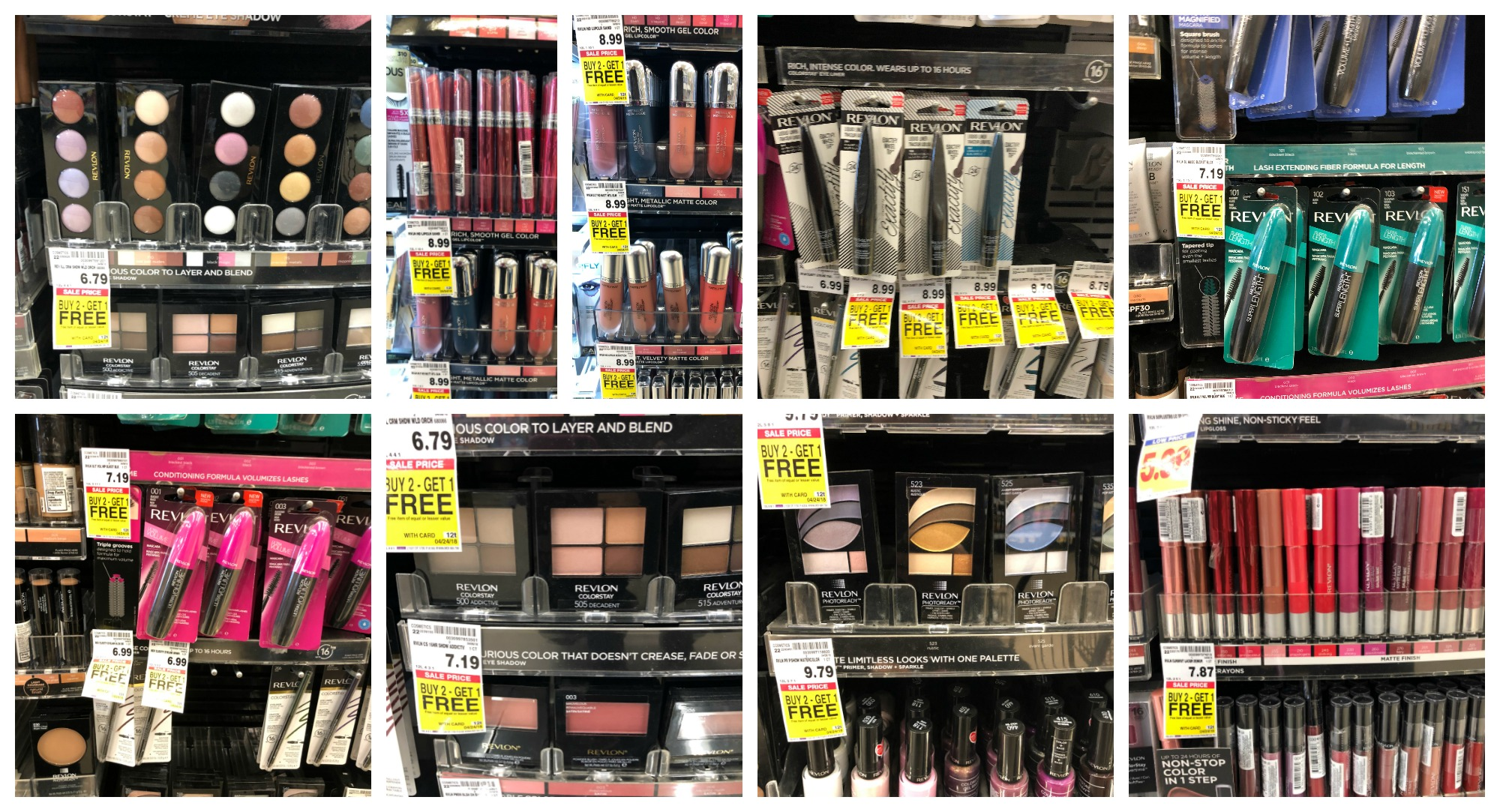 Revlon Makeup Deals at Kroger with B2G1 Free Sale! Pay as