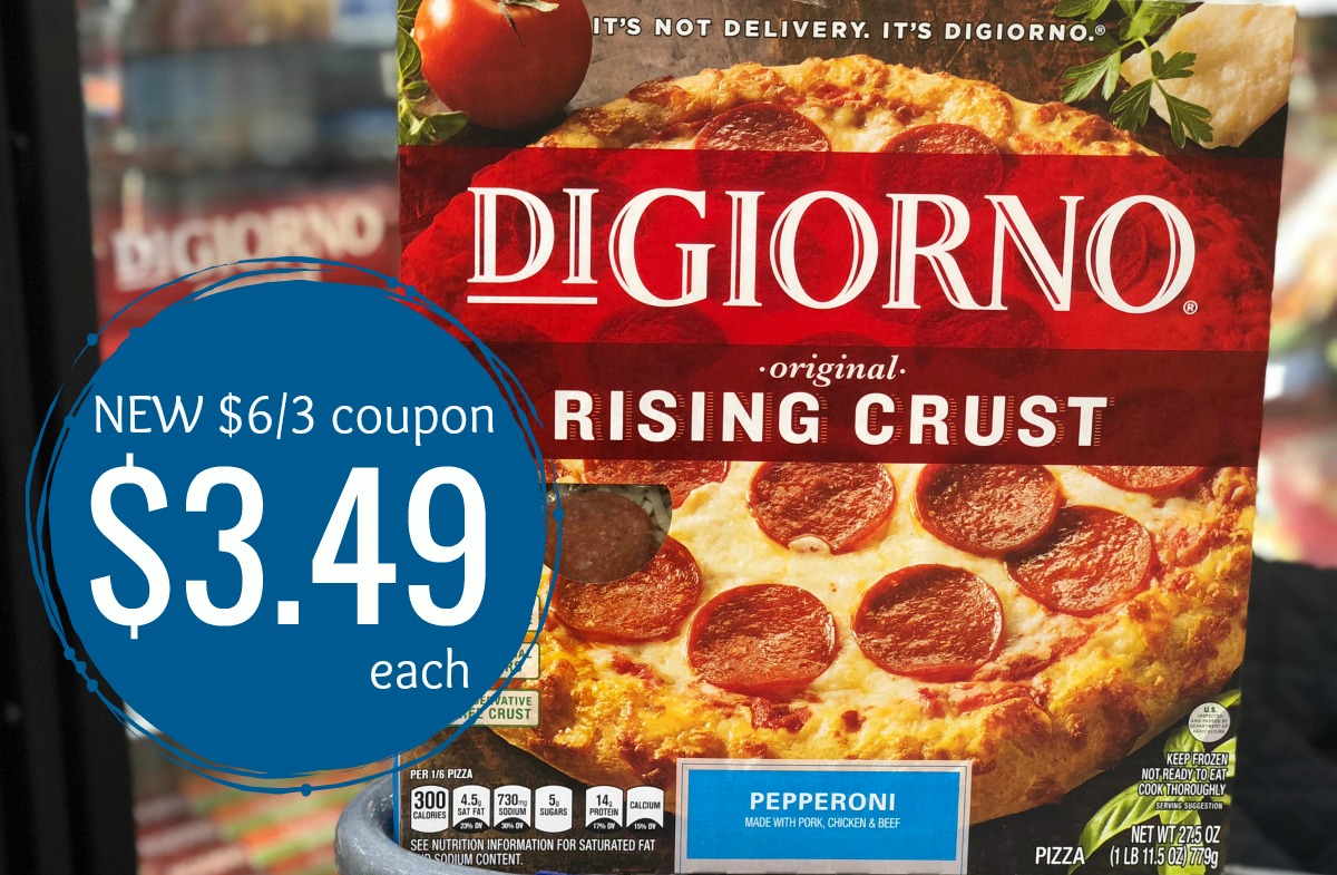 picture about Digiorno Pizza Coupon Printable named Contemporary Substantial Worthy of DiGiorno Pizza Coupon \u003d Just $3.49 at Kroger