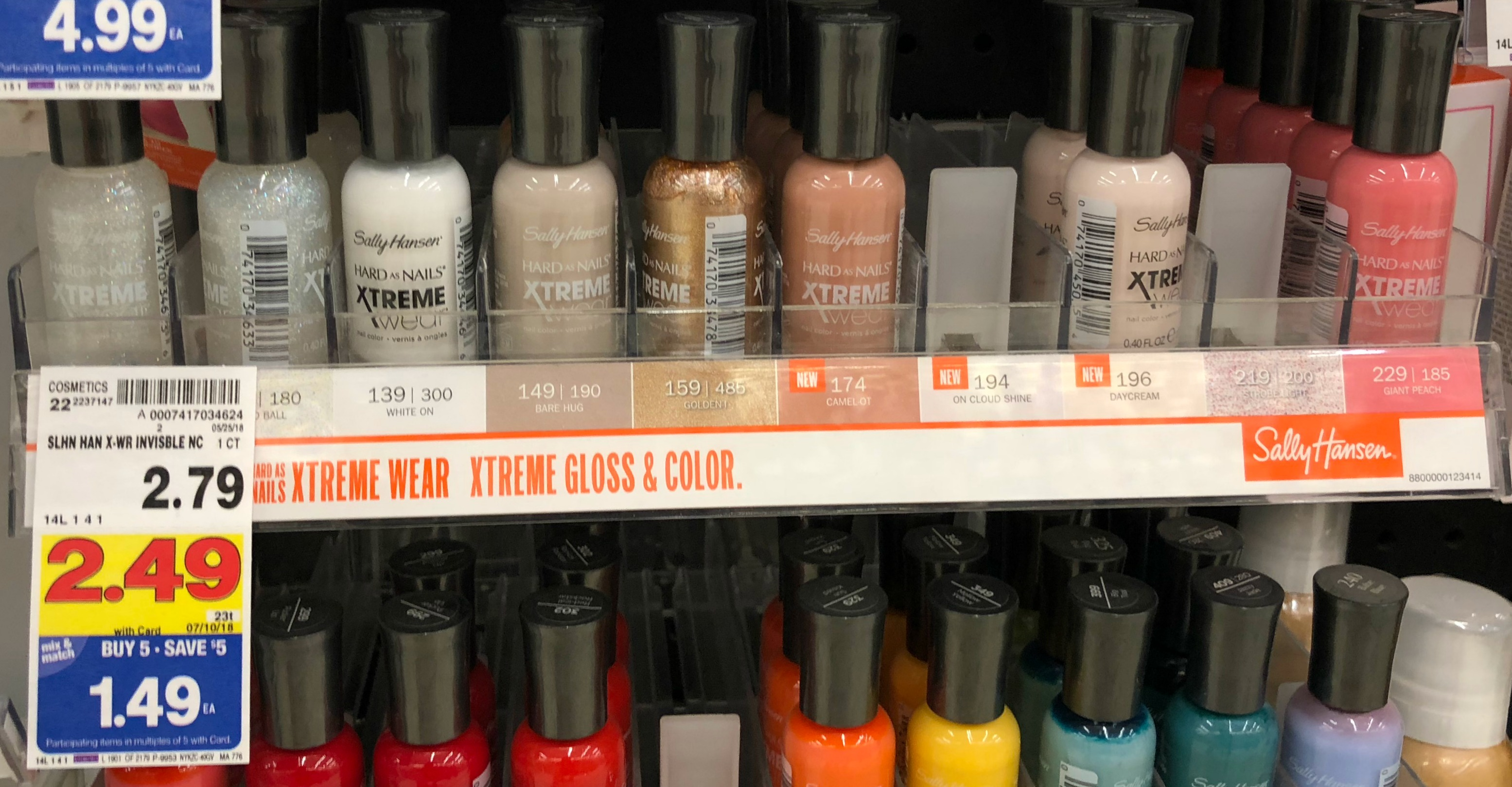 Sally Hansen Hard as Nails Xtreme Wear Nail Color ONLY $0 49