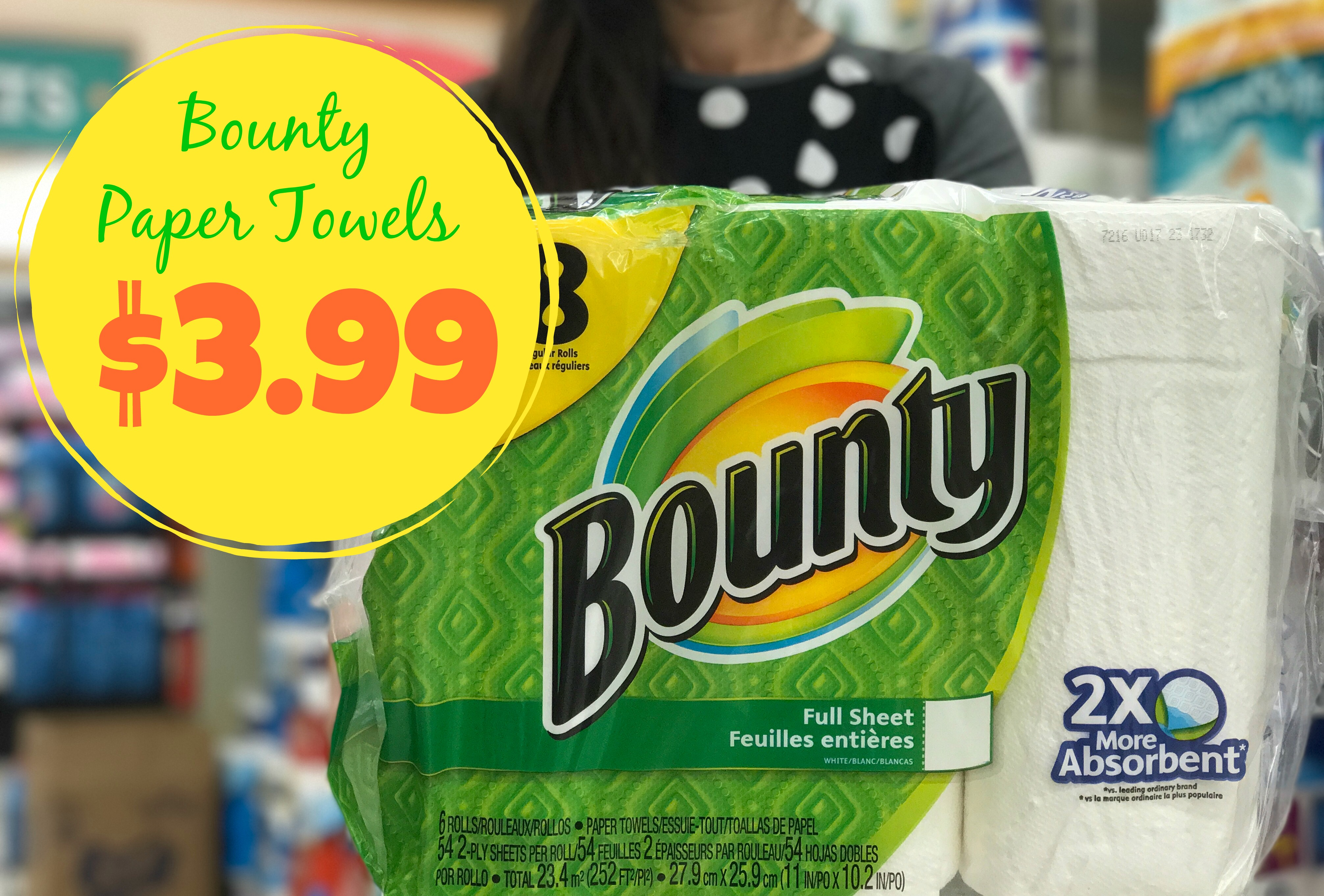 Bounty paper towels kroger high quality toilet seat