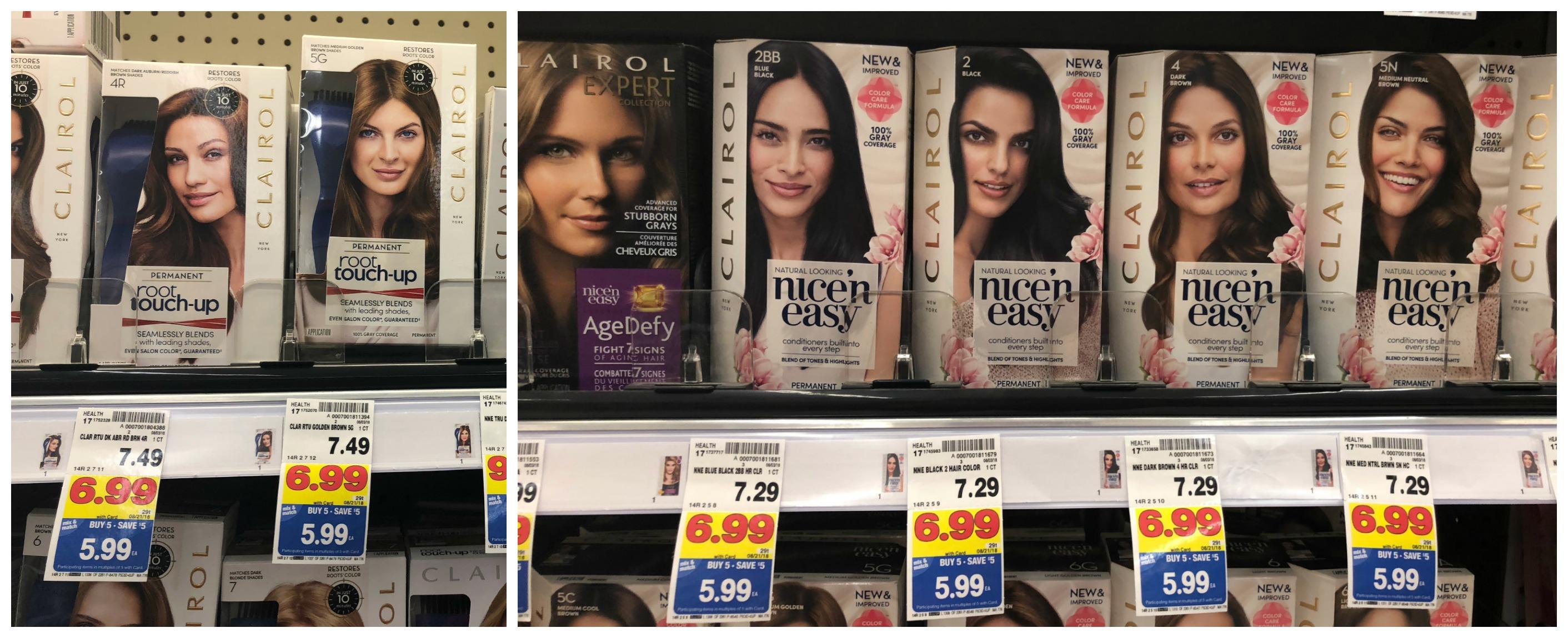Grab Clairol Hair Color For As Low As 099 At Kroger Reg Price