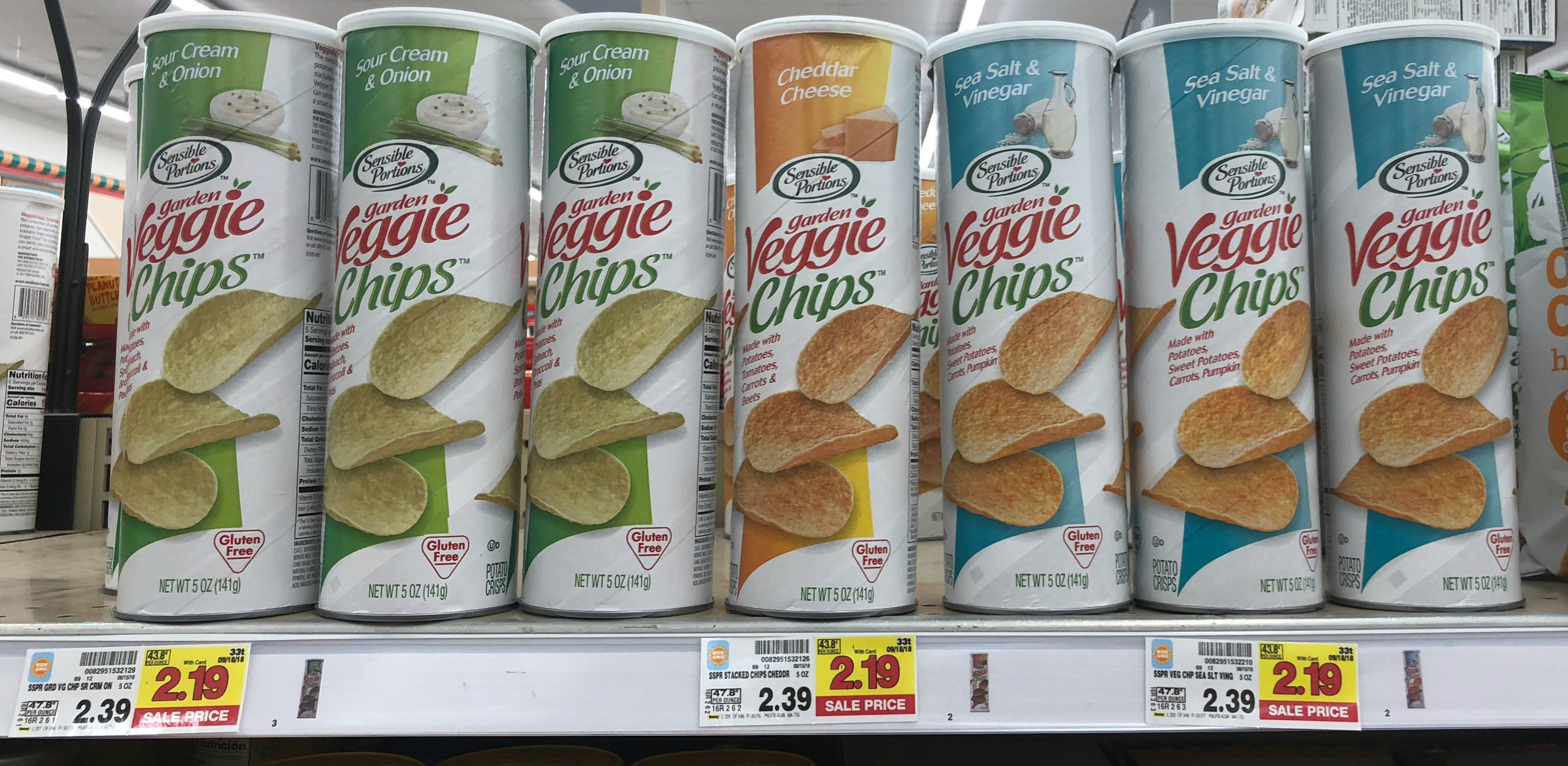Image result for veggie chips tin can