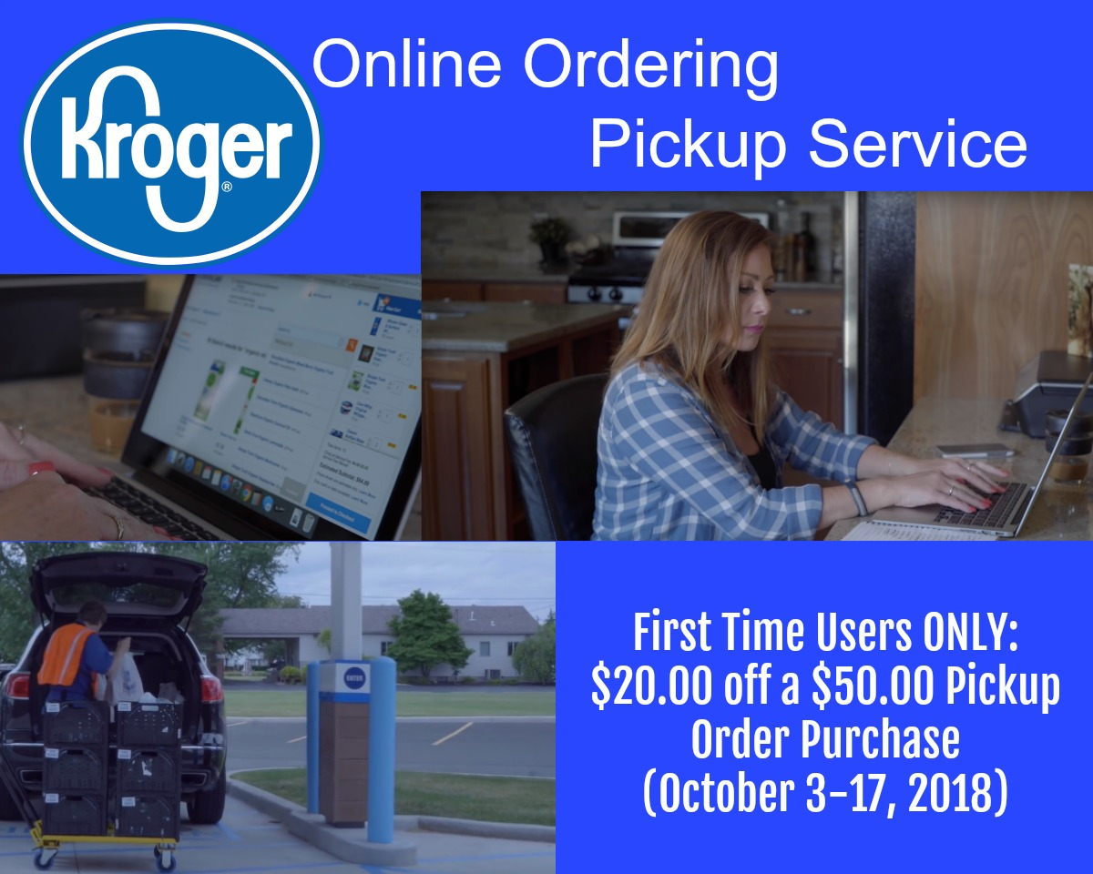 Kroger Online Ordering Pickup Service New Customers Only 20 00