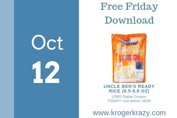 Kroger free friday download | tostitos dip-etizers dip! | kroger krazy.