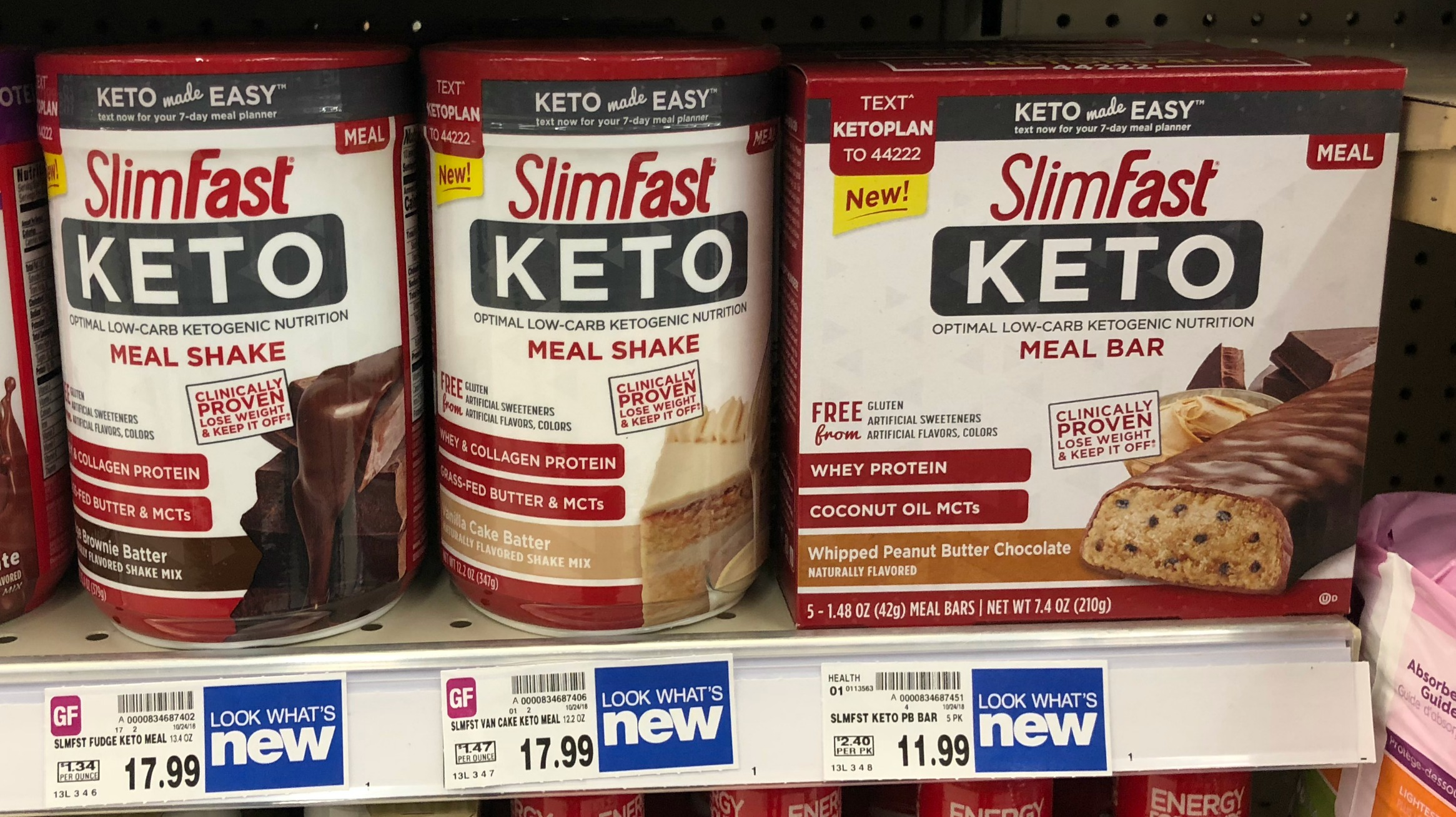 photo relating to Slim Fast Coupons Printable known as SlimFast Keto Solutions are as minimal as $9.99 at Kroger! OR Print