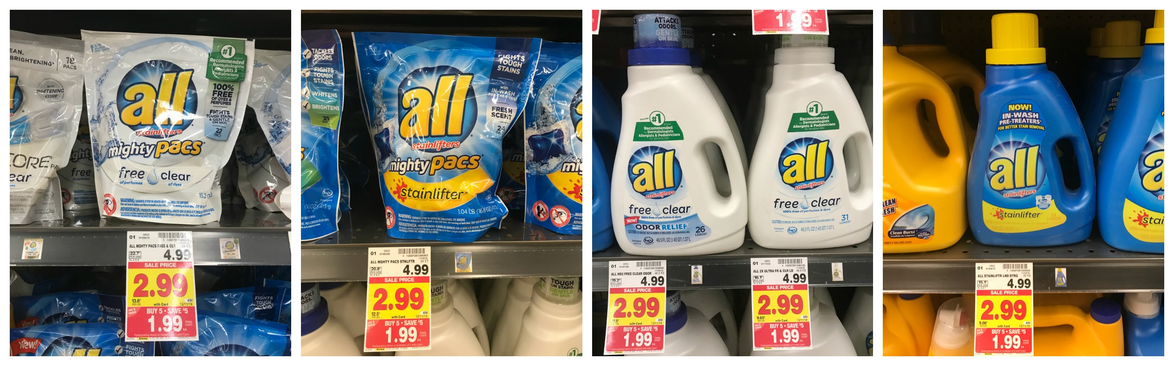 ALL BRAND LAUNDRY DETERGENT
