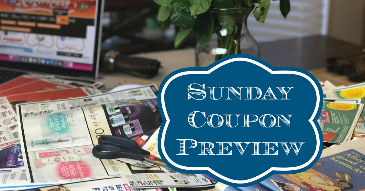 Sunday Coupon Preview | No Inserts!! | Kroger Krazy