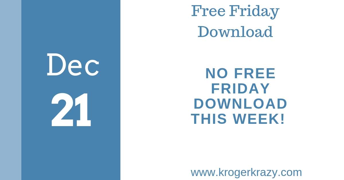 what happened to the free friday download