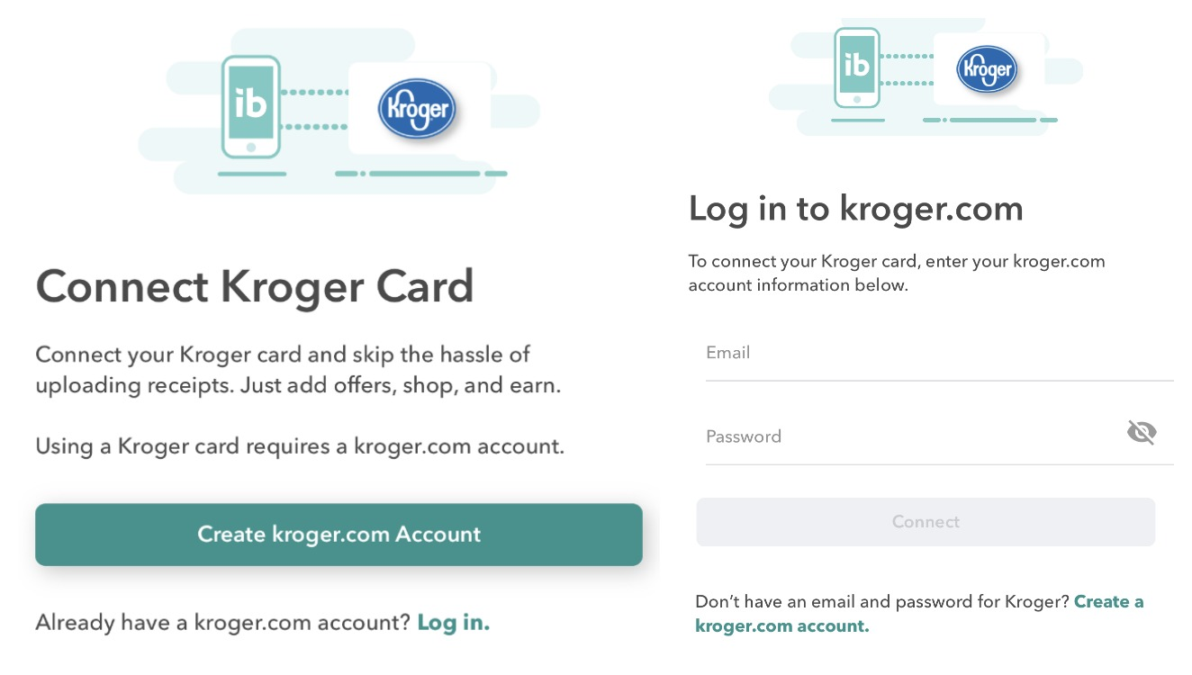Ibotta: Kroger is NOW Receipt-Free! Connect your Loyalty