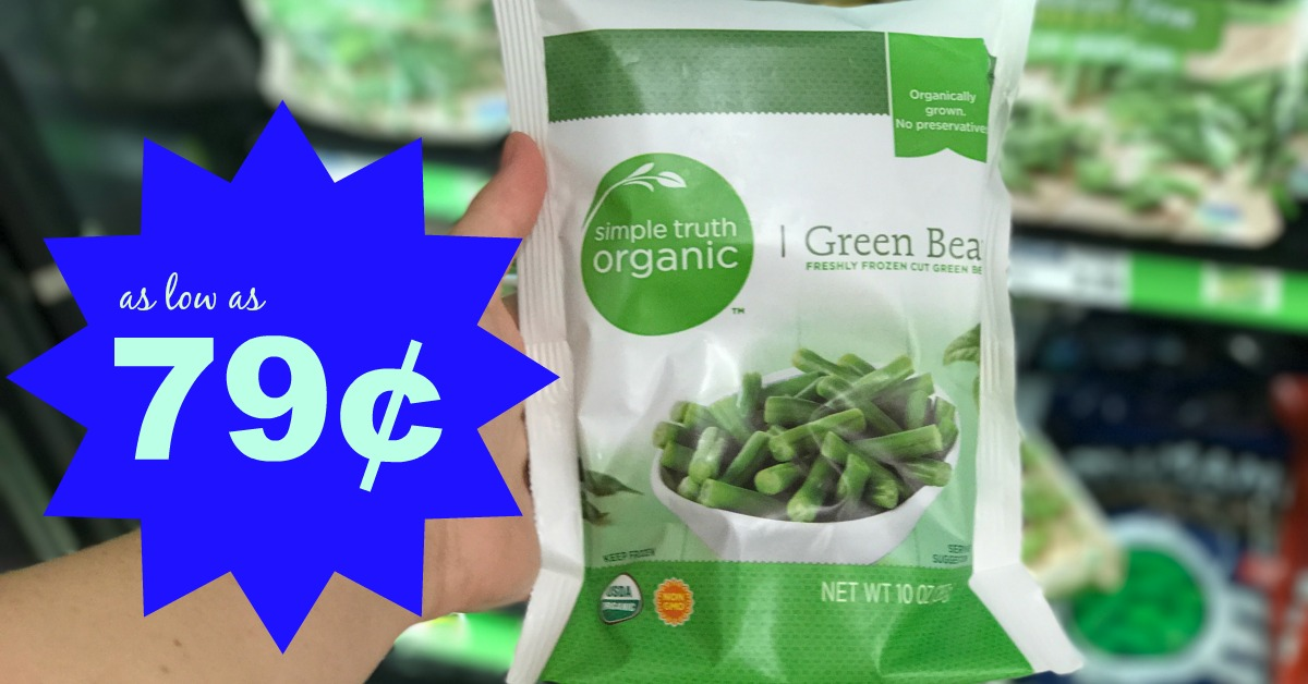Simple Truth Organic Frozen Vegetables As Low As $0.79 At