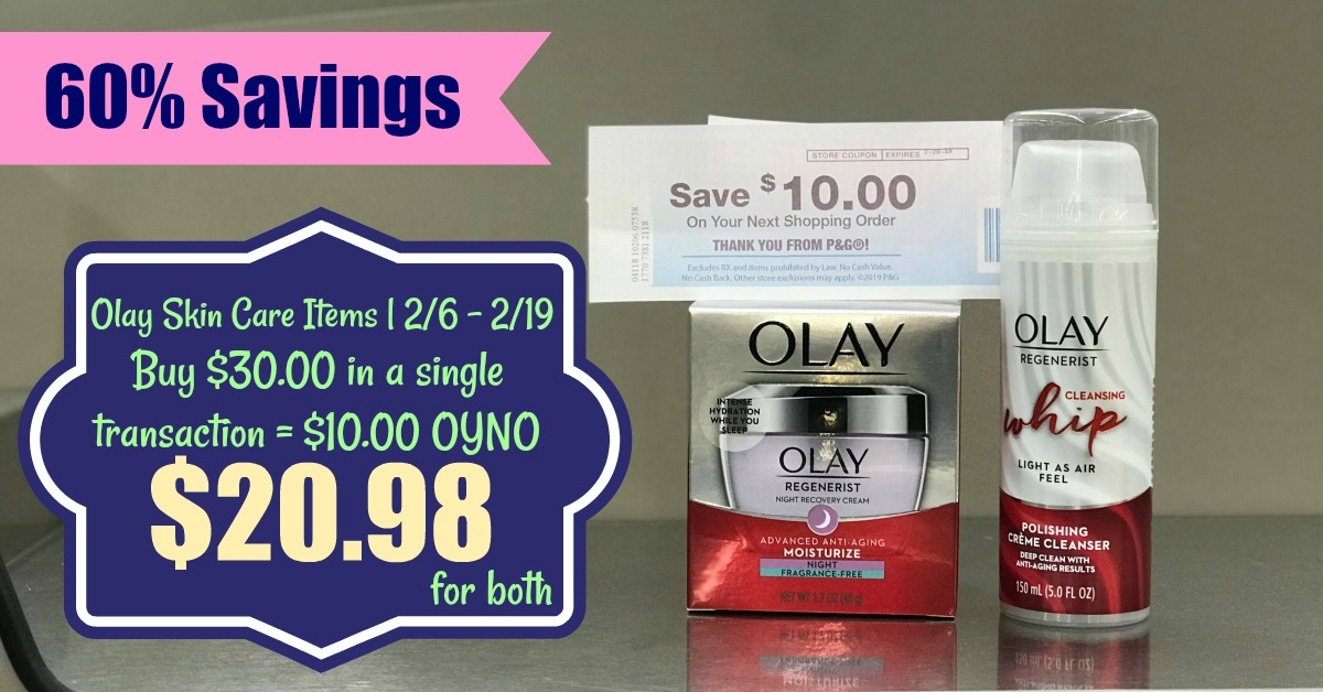Olay Skin Care Catalina | Pay as low as $20 98 for BOTH Items at