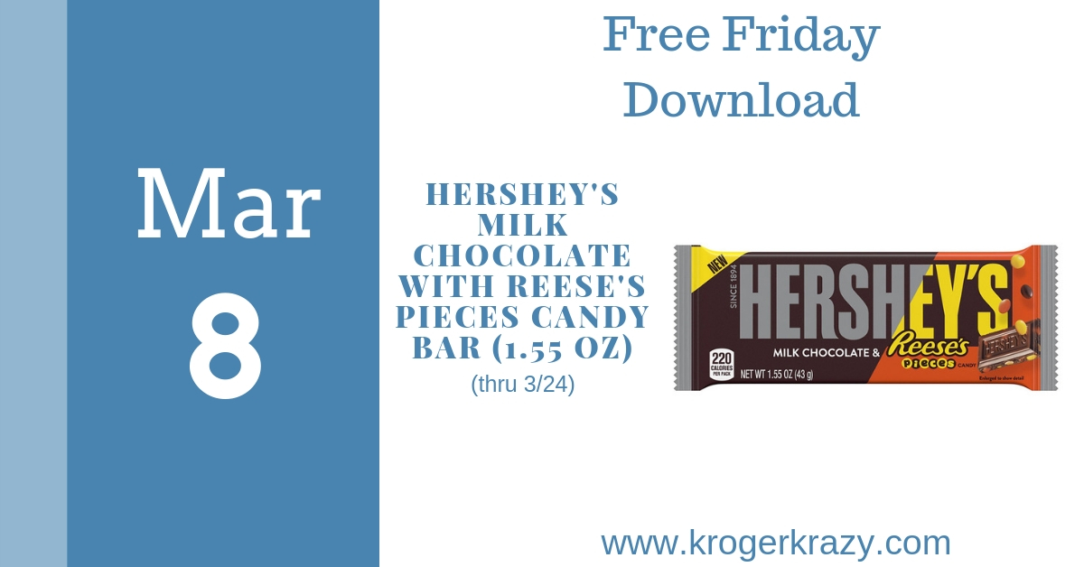 Free Friday Download Hersheys Milk Chocolate With Reeses Pieces
