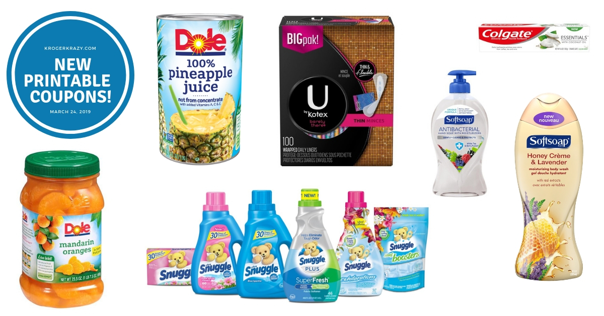 photo about Allegra D Coupons Printable referred to as Fresh Printable Coupon codes!! Dole, U Through Kotex, Colgate, Snuggle