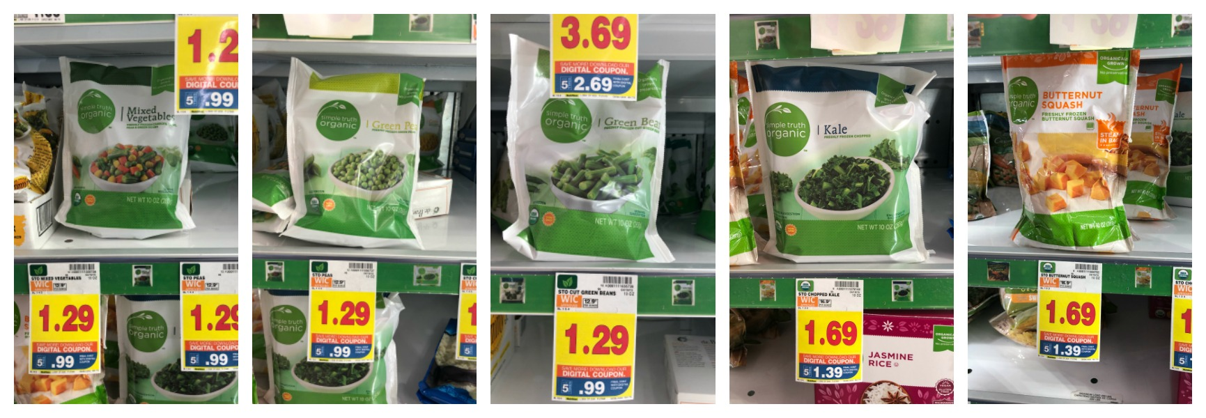 Stock Up On Simple Truth Organic Frozen Vegetables For As