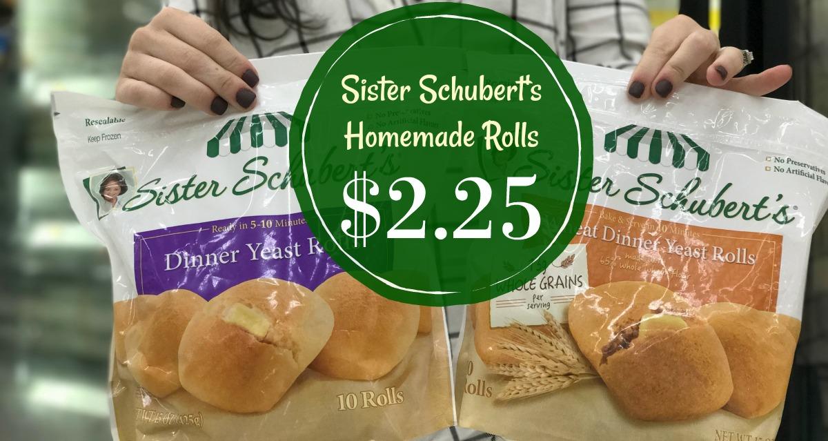 Sister Schubert S Homemade Rolls Just 2 25 At Kroger Kroger Krazy