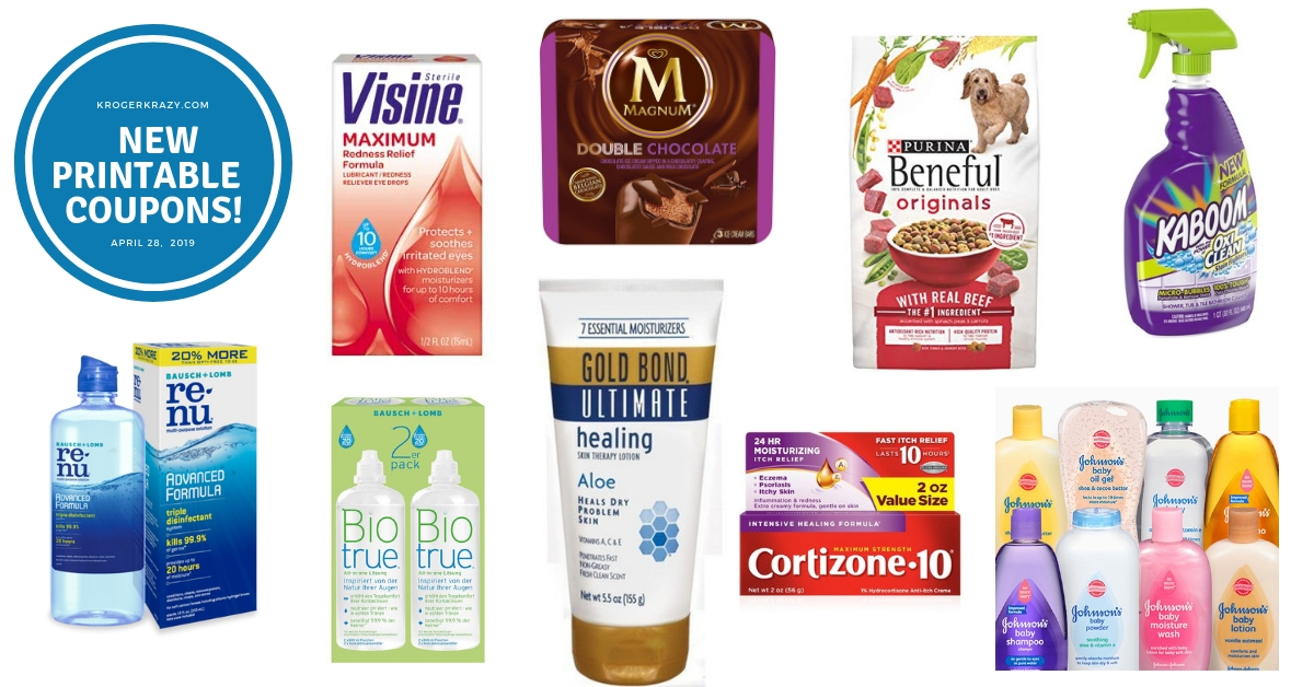 picture relating to Ice Cream Coupons Printable identified as Clean Printable Discount coupons! Magnum Ice Product, Gold Bond, Purina