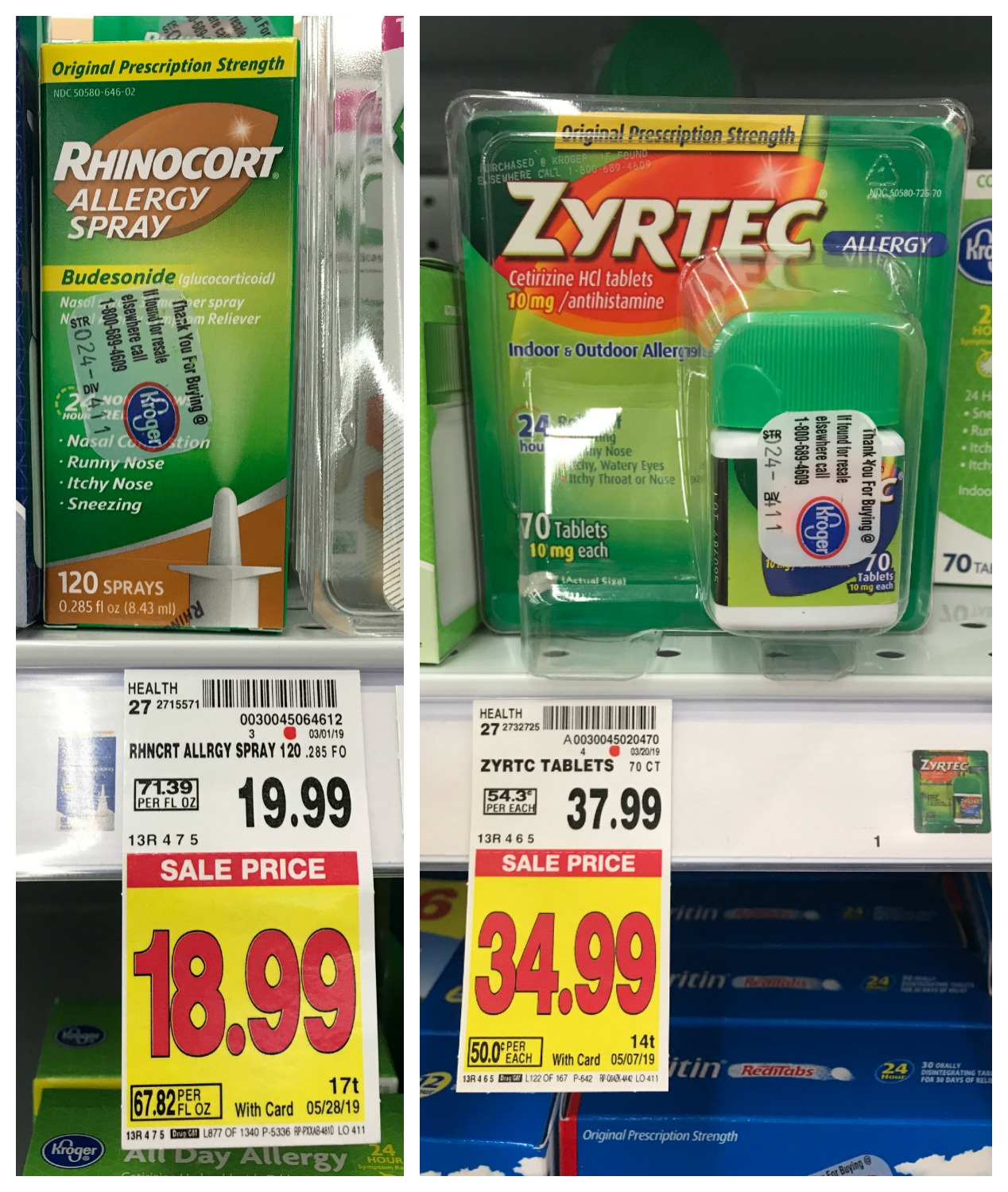 It's just a graphic of Peaceful Zyrtec Printable Coupon $10