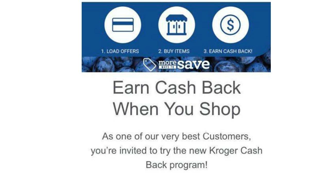 kroger cash back program