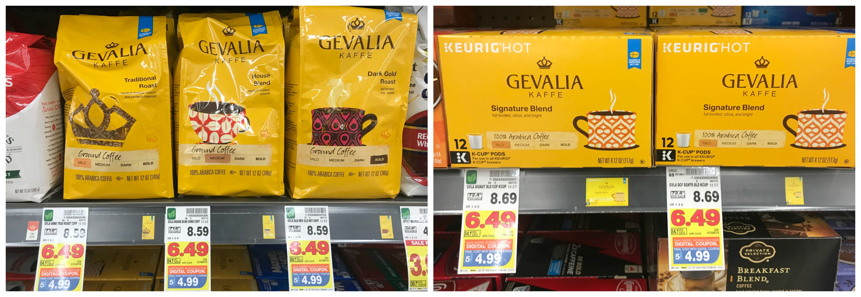 photograph about Gevalia Printable Coupon referred to as Seize Gevalia Kaffe Espresso ☕️ Merchandise for Particularly $4.99 at