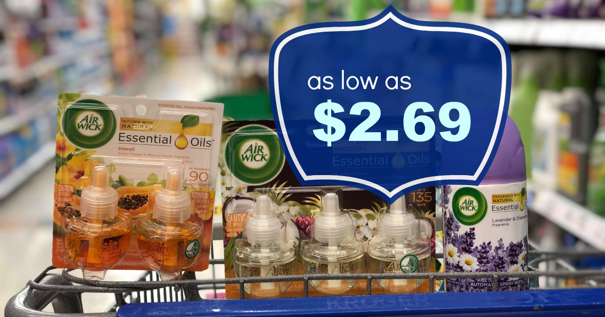 graphic about Kroger Printable Application named Get Air Wick Merchandise for as lower as $2.69 at Kroger