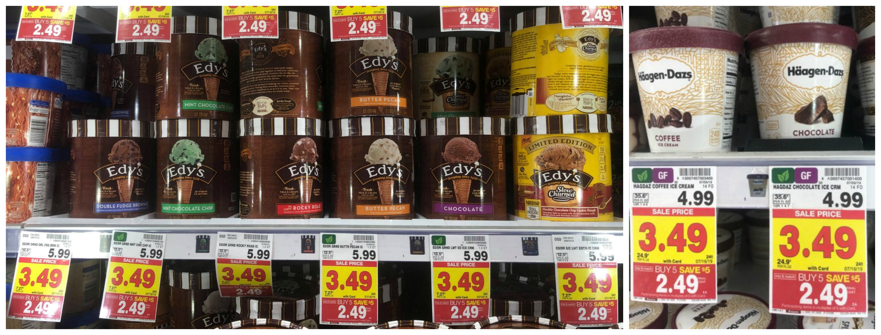 image relating to Haagen Dazs Coupon Printable identify Get Haagen-Dazs and Edys Ice Product for Precisely $1.99 every single at