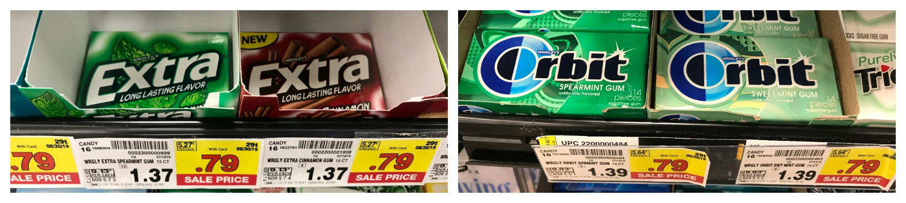 Stock Up On Orbit And Extra Gum For 54 Each At Kroger Kroger Krazy
