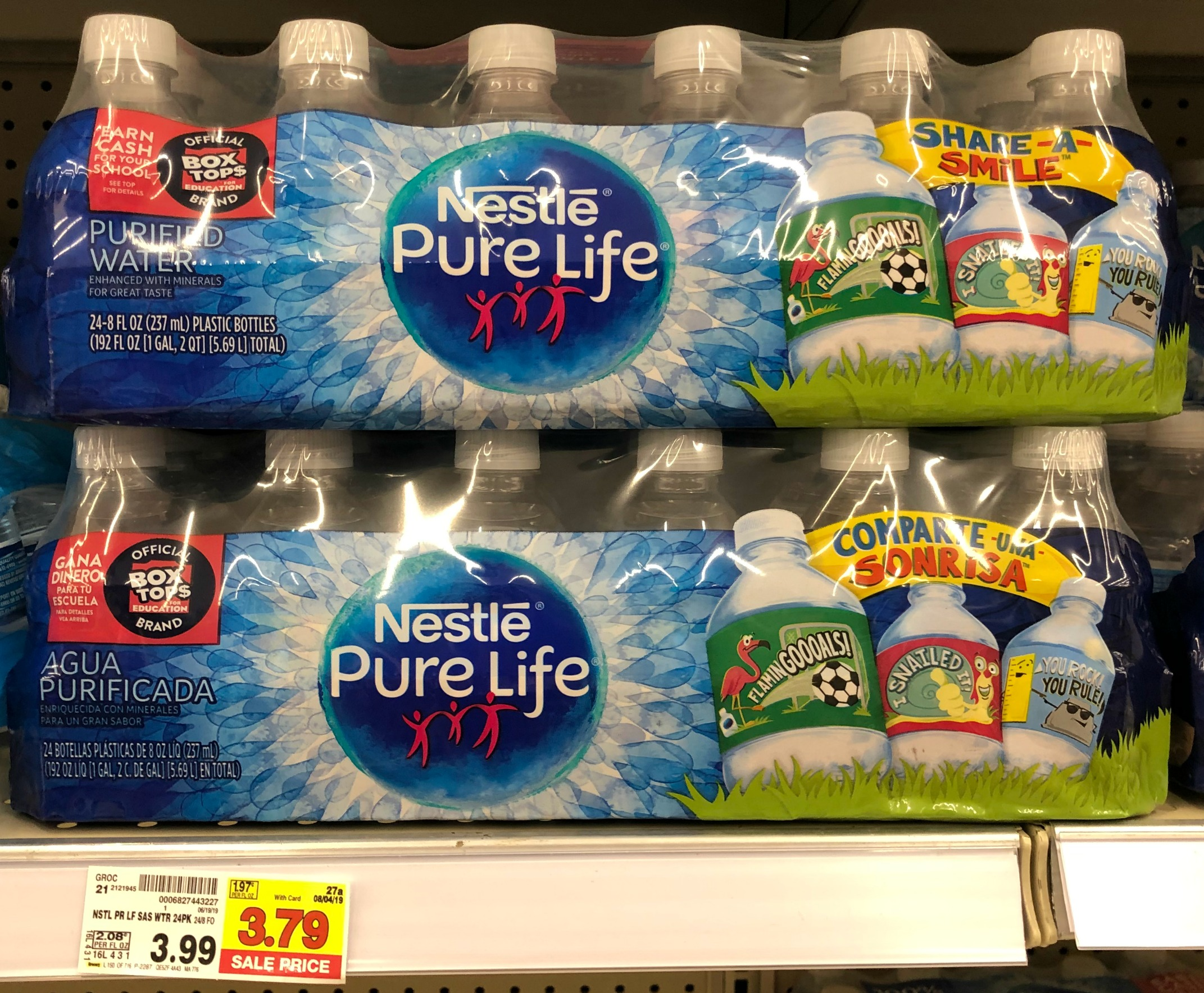 Nestle Pure Life Water JUST $3 29 each at Kroger!! | Kroger