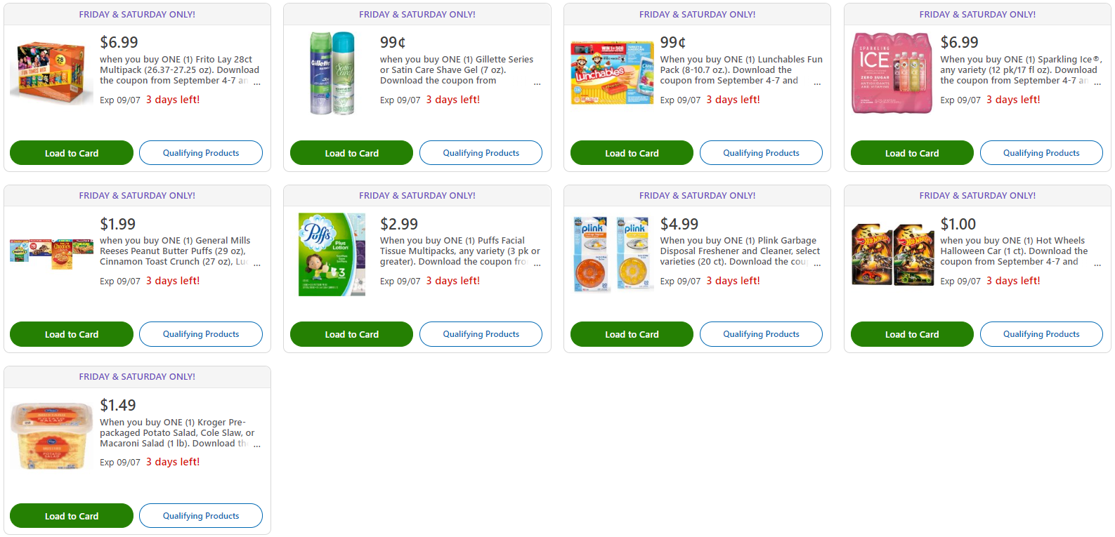 Kroger Weekly Grocery Ads Coupon Deals | KrogerKrazy com