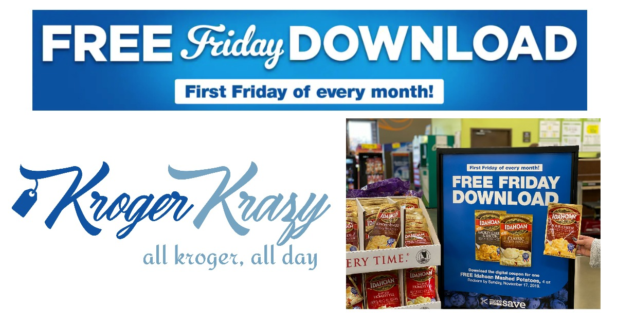 where is the kroger free friday download