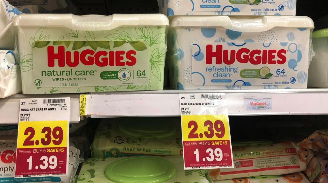 Huggies Wipes Kroger