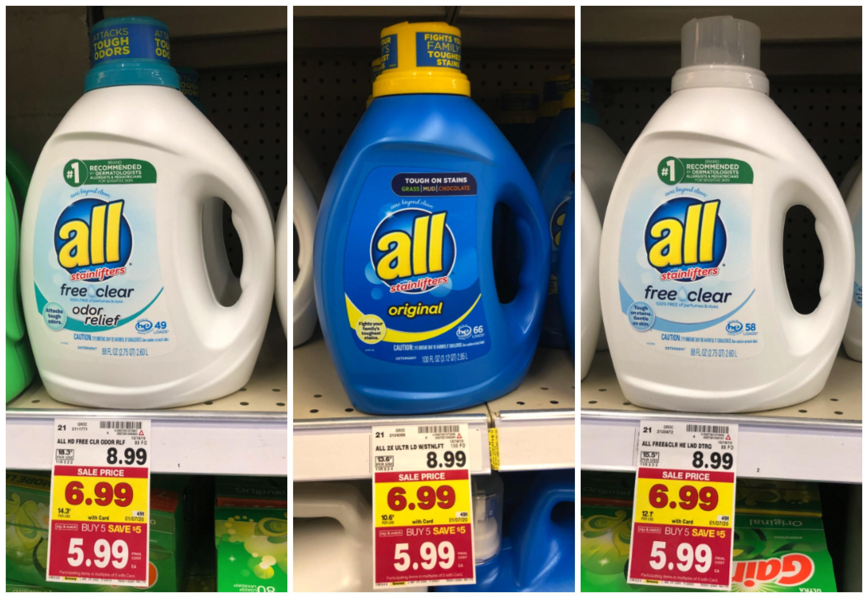 all laundry detergent kroger