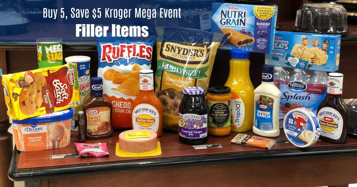 B5S5 Mega Fillers Kroger Krazy