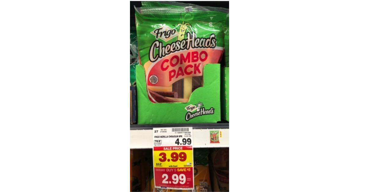 Frigo Cheese Heads Combo Kroger Krazy