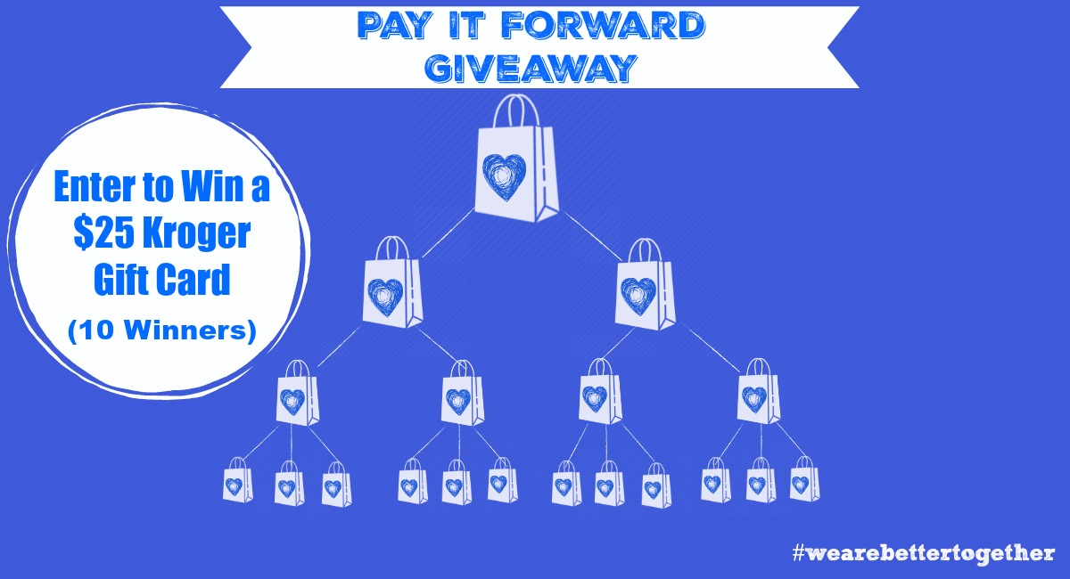 pay it forward giveaway kroger krazy