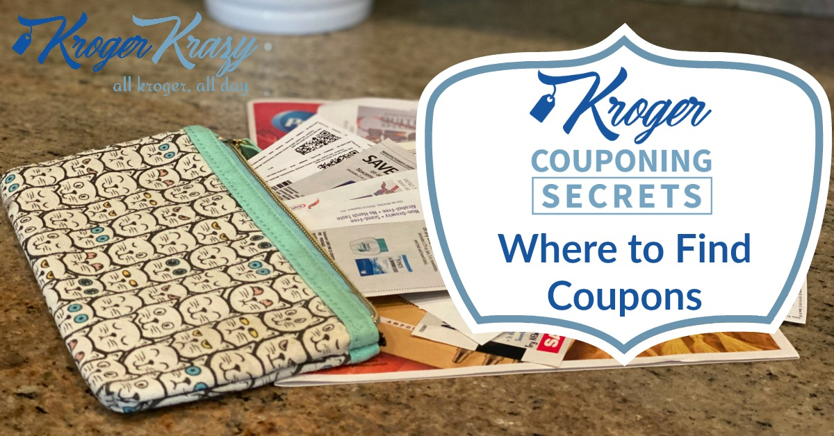 Now that you've gotten to know your coupons, stayed tuned for more Kroger Couponing Secrets!