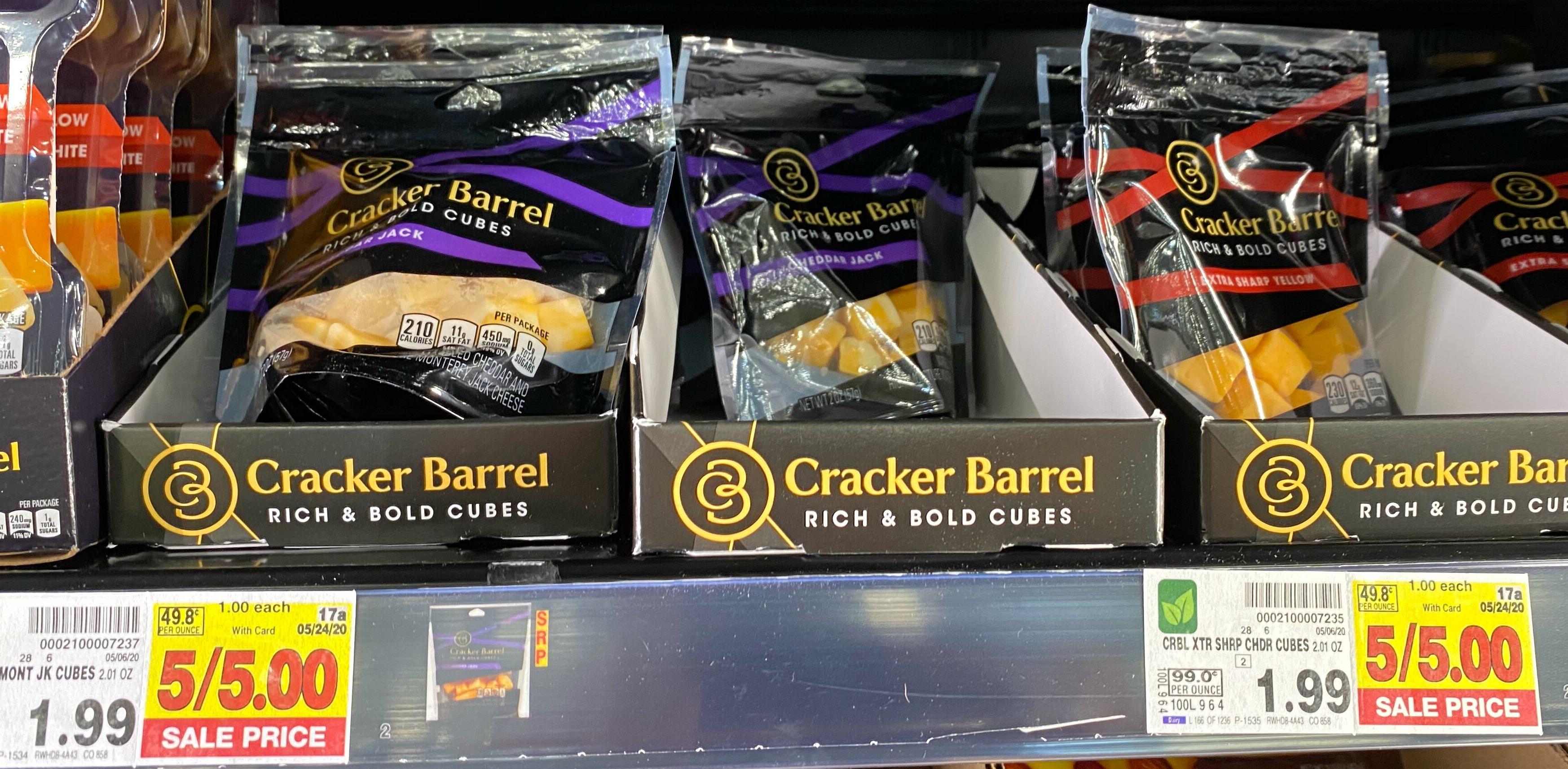 cracker barrel cubes kroger