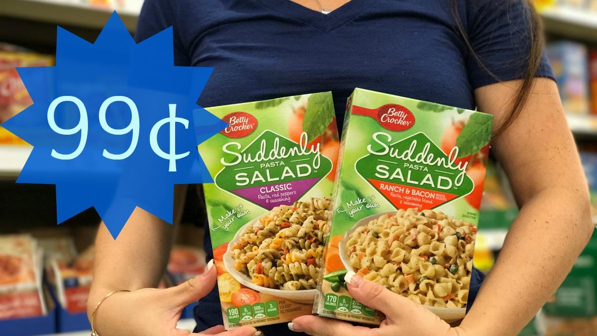 Betty Crocker Suddenly Salad Kroger Krazy