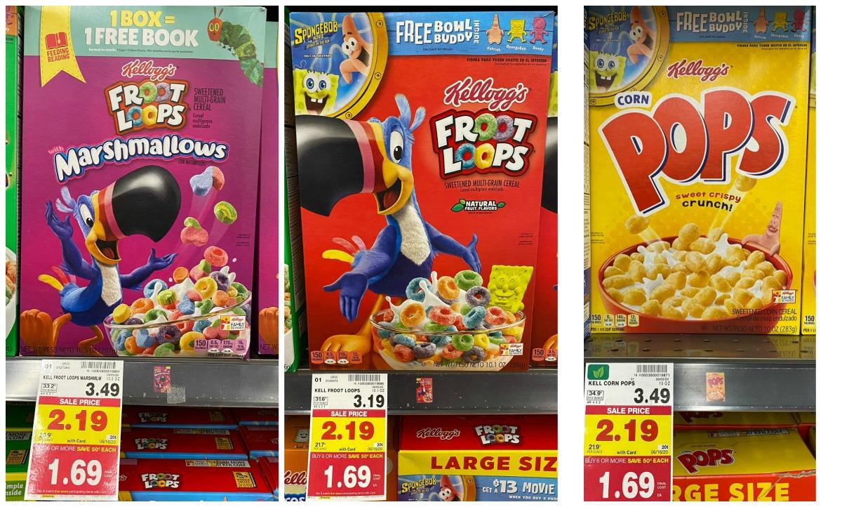 Kellogg's Cereal Kroger2