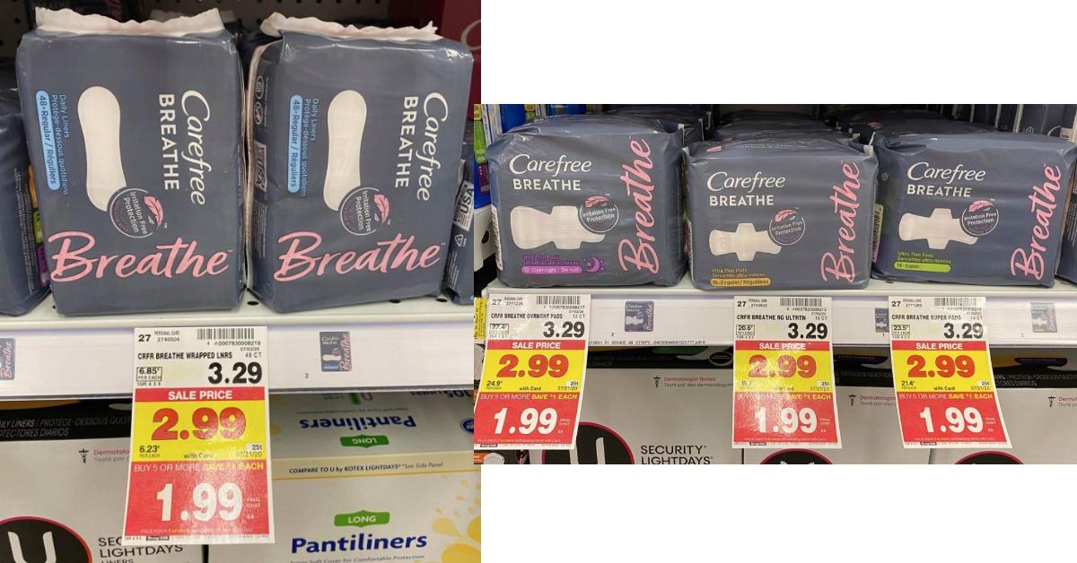 Carefree Breathe kroger
