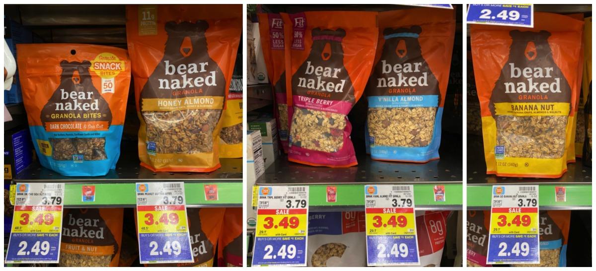 Bear Naked Granola Kroger