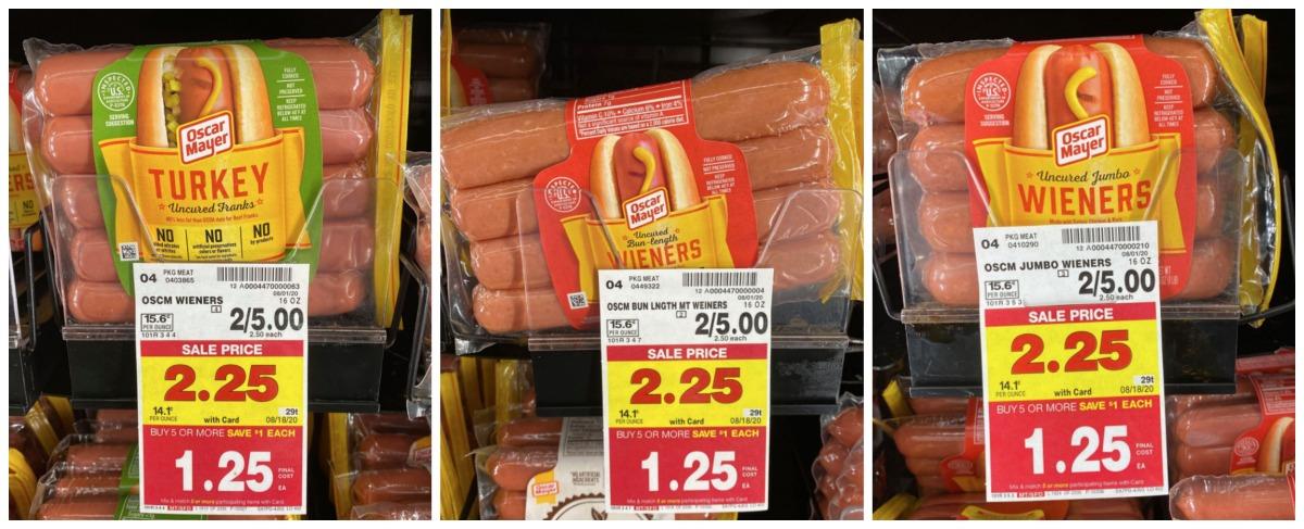 OM Hot Dogs Kroger