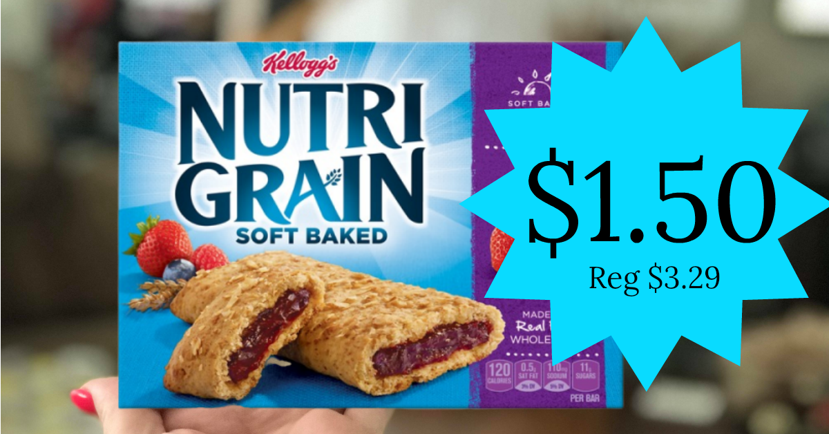 Kelloggs® Nutri-Grain® Cereal Bars Apple Cinnamon Reviews