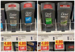 Dove Men+Care Deodorant Kroger