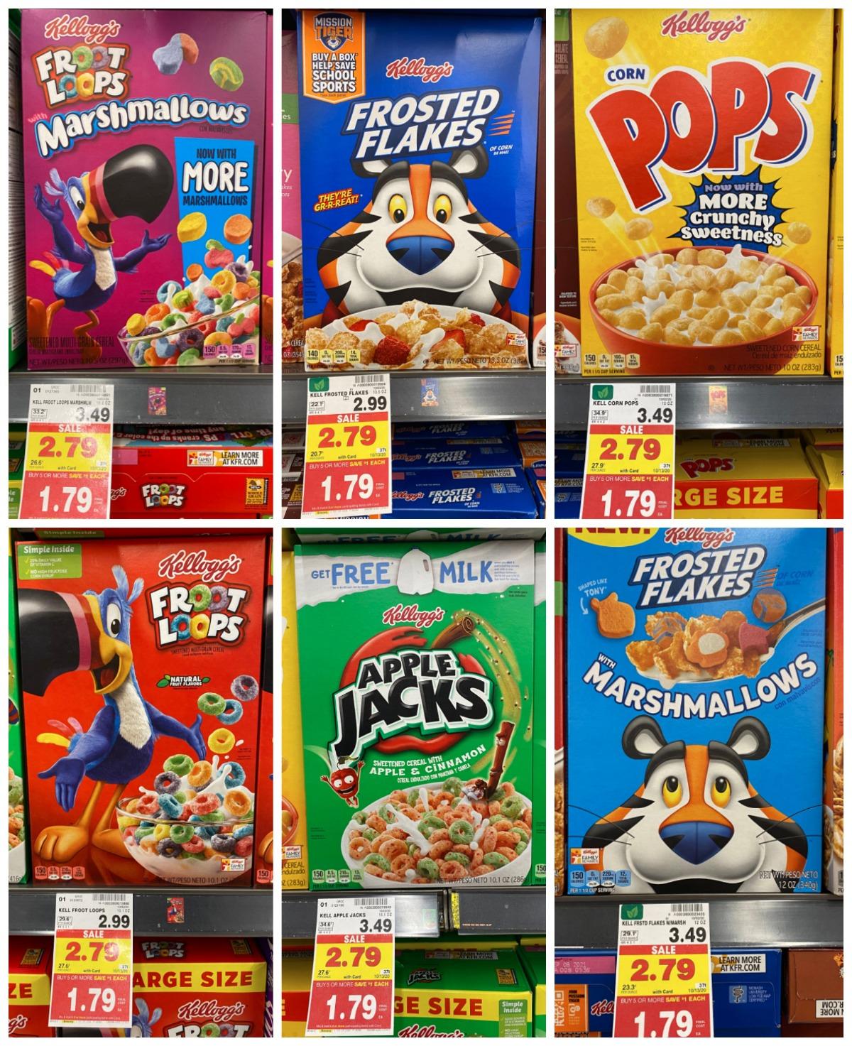 Kellogg's Cereal Kroger