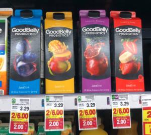 GoodBelly Probiotic Beverages Kroger