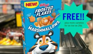 kellogg's frosted flakes cereal kroger krazy