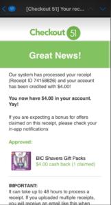 Checkout51 Bic Rebate