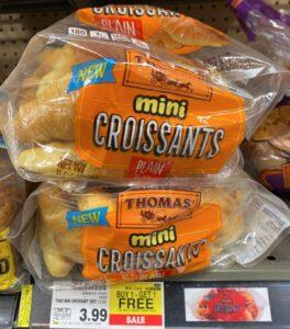 thomas mini croissants