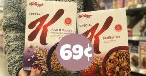 Kellogg's Special K Cereal Kroger Krazy