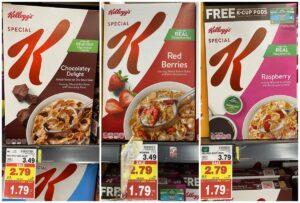 Kellogg's Special K Cereal Kroger